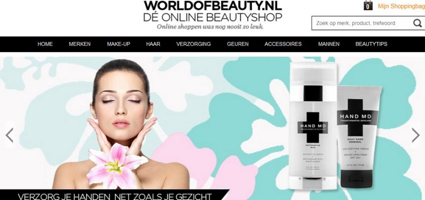 Beauty Online Webshop WorldofBeauty